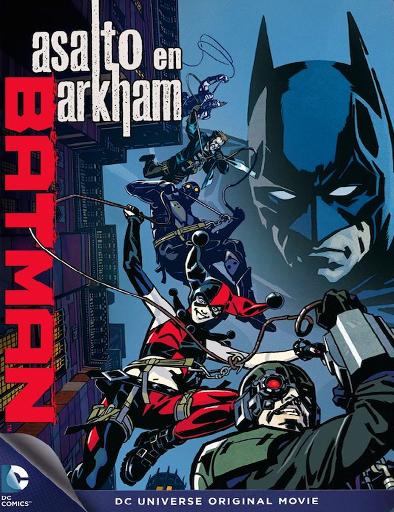 Ver Batman: Asalto en Arkham (2014) Online