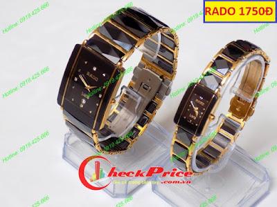 Đồng hồ cặp đôi Rado 1750D