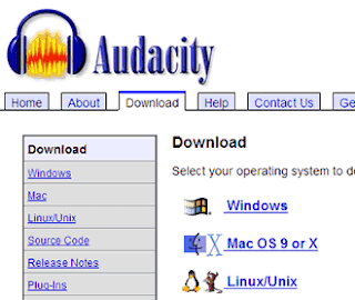 Audacity download Mac