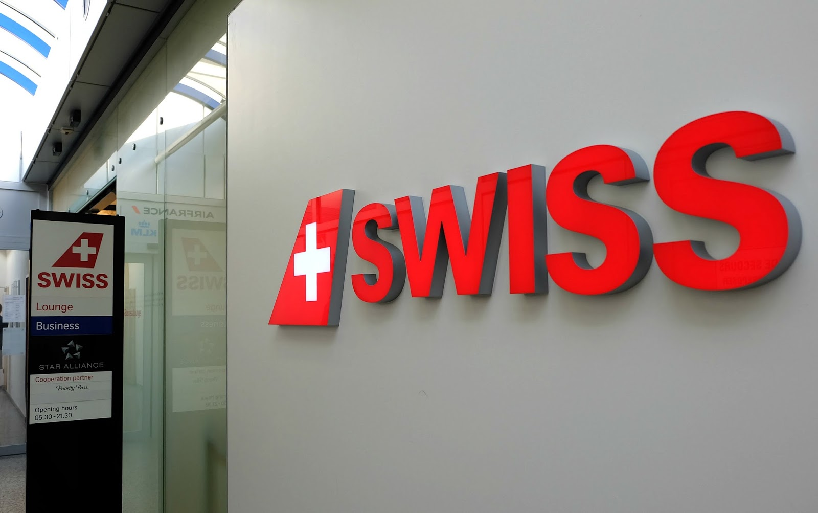 Swiss Air, Geneva