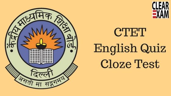 CTET and KVS Exam Quiz on English