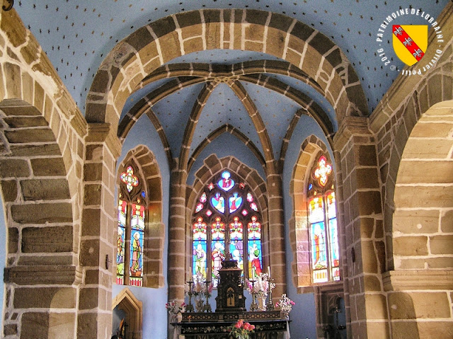 ROZIERES-SUR-MOUZON (88) - Eglise Notre-Dame (XIIe-XVe siècles) (Intérieur)