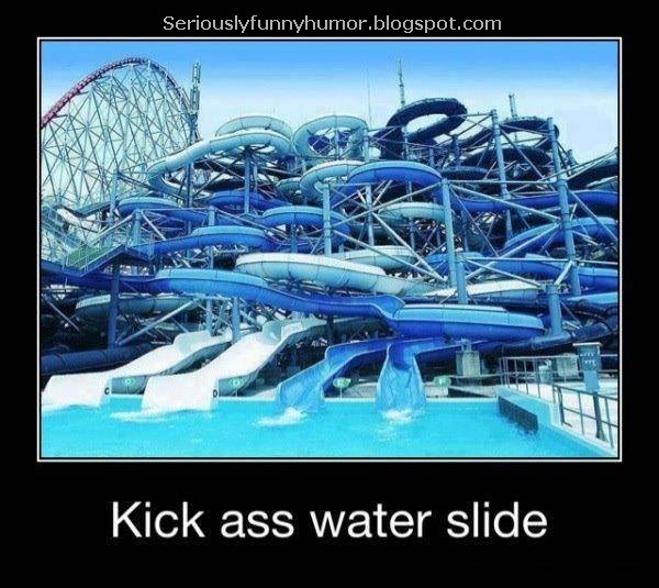 Kick ass water slide - Mindfuck!