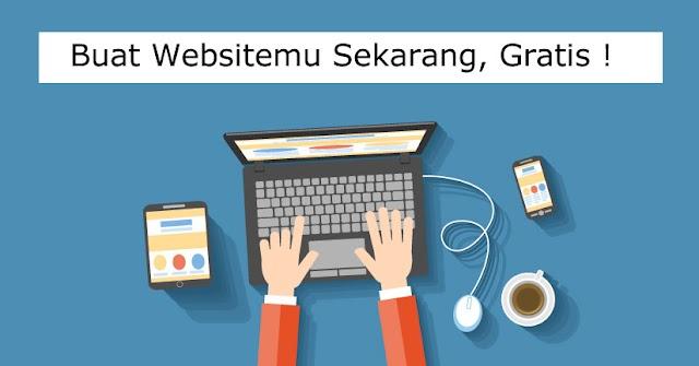 Cara Gampang Menciptakan Website Gratis, Bahkan Pemula Niscaya Bisa