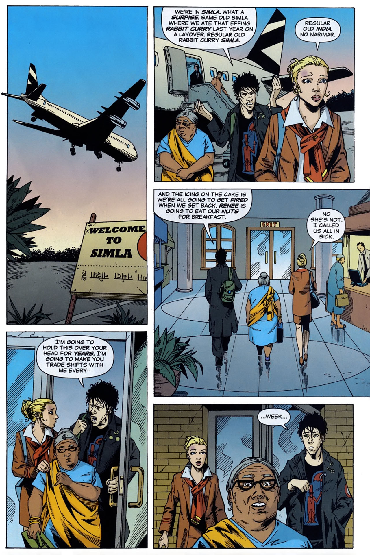 Read online Air comic -  Issue #2 - 19