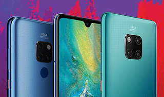 See the New Huawei Mate 20 Phone Series that can Charge Another Phone via Wireless