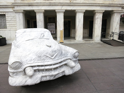 Marble 1952 Cadillac in Carrara