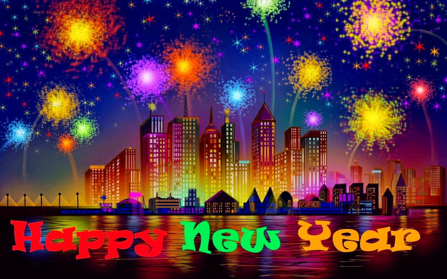 Happy New Year 2019 Wishes in Hindi Wallpaper