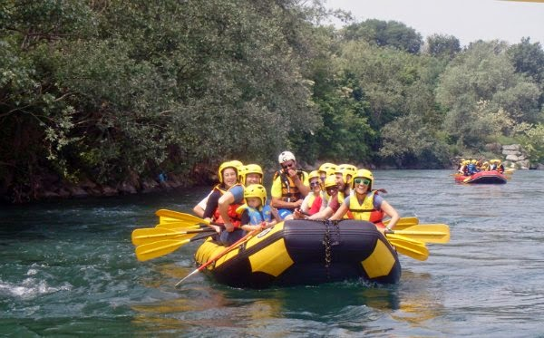 fare Rafting sul Ticino