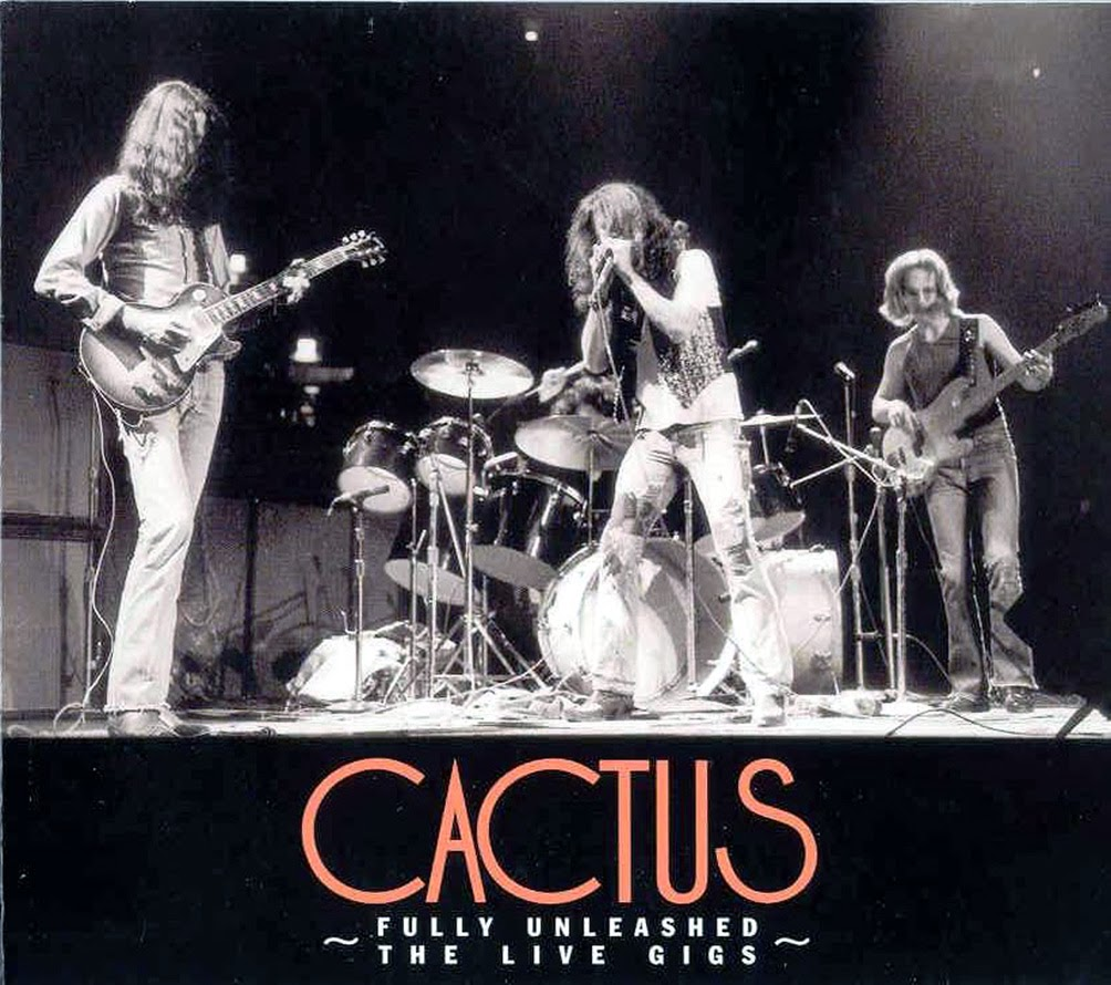 Plain and Fancy: Cactus - Fully Unleashed / The Live Gigs ...
