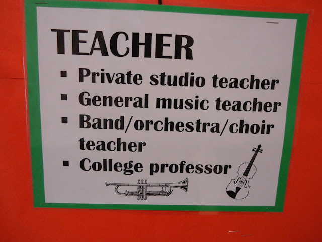 careers in music bulletin board elementary orchestra