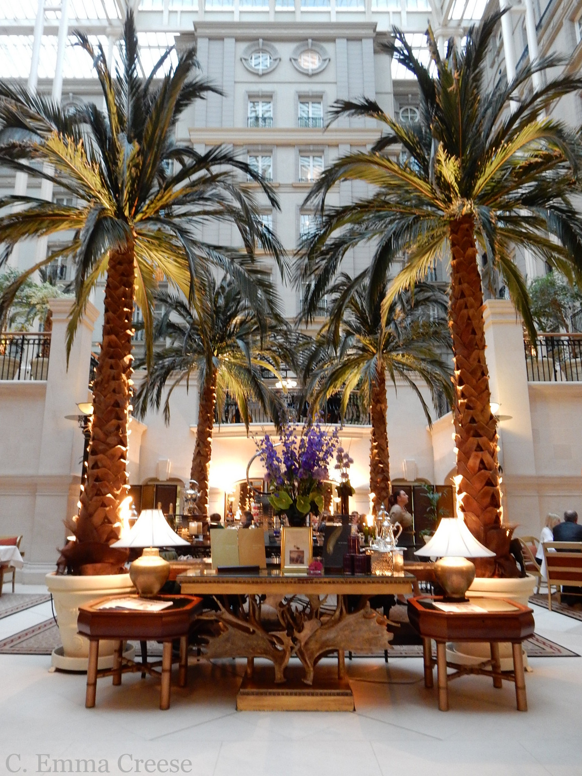 The Winter Garden Landmark Hotel Restaurant Review Adventures of a London Kiwi