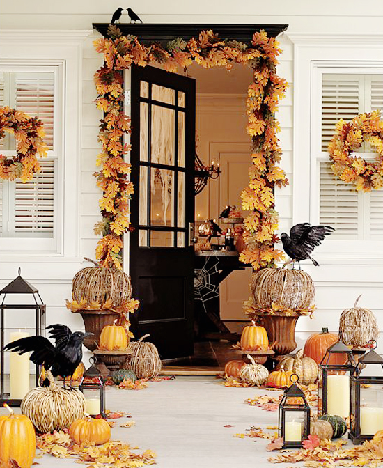 How To Decorate A Living Room For Fall