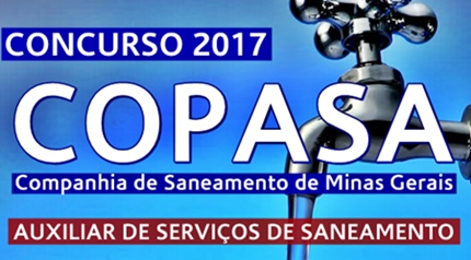 Apostila concurso Copasa 2017