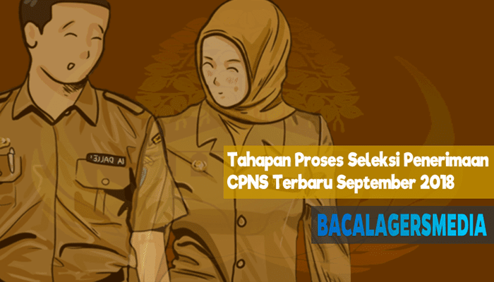 3 Tahapan Proses Seleksi Penerimaan CPNS Terbaru 19 September 2018