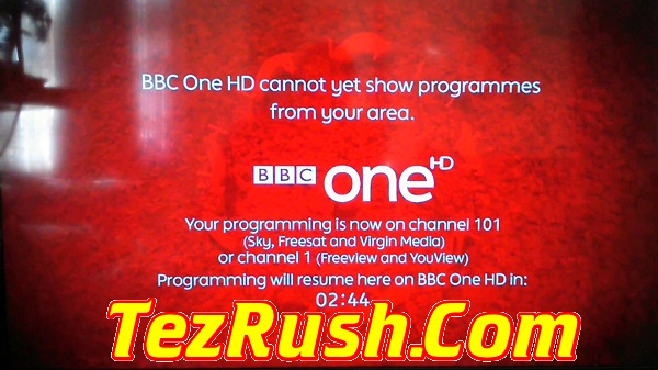 BBC One HD Live All Satellite Working Frequency 2018