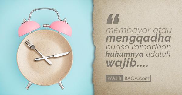 Bacaan Niat Puasa Qadha Lengkap dengan Bahasa Arab, Latin dan Artinya