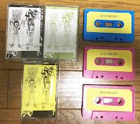 Split tape w/Cum Sock