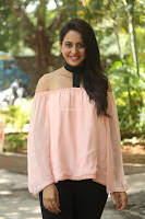 Rakul Preet Singh in lovely Pink Crop Top and Black Trousers at Jaya Janaki Nayaka success meet 081.JPG