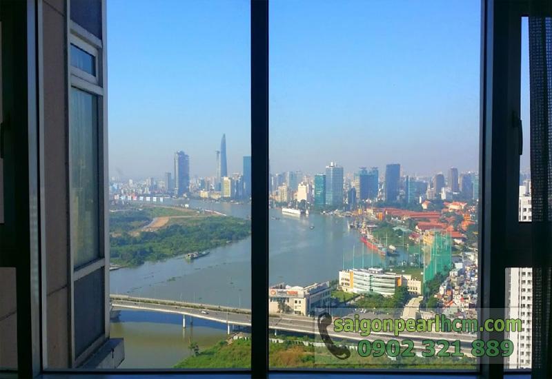 Bán căn hộ Saigon Pearl tòa nhà Ruby2 - view sông Sài Gòn