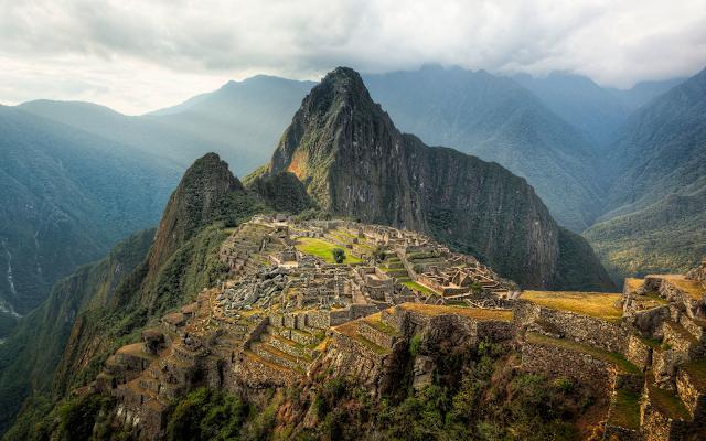Mulustrasi Kota Machu Picchu