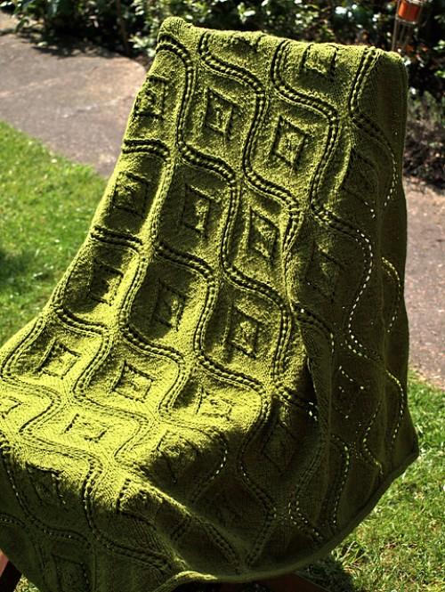 Seascape Stole - Free Pattern