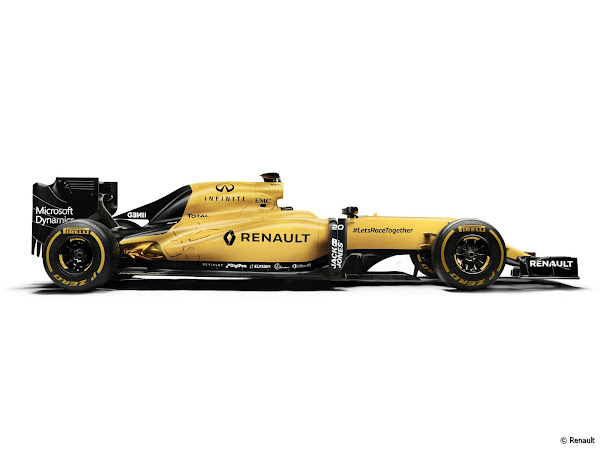 Renault Sport F1 RS16 2016 F1 Wallpaper
