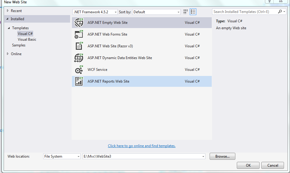 How to create datatable programmatically in c# asp net
