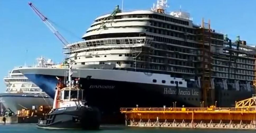 New Pinnacle-class Koningsdam Delivered