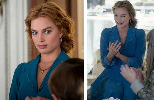 Tarzan filme 2016, Jane (Margot Robbie) vestido azul, figurino
