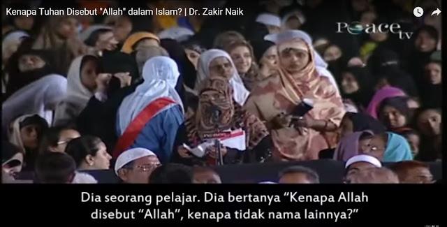 Kenapa Allah Disebut Allah? Ini Jawaban DR Zakir Naik