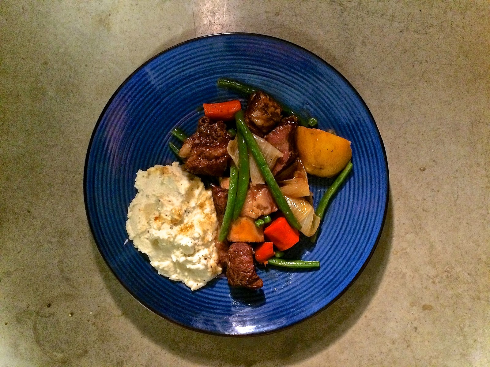 Marty Nation's Short Ribs and Whipped Cauliflower
