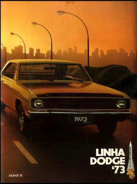 propaganda Dodge SE 73 - 1972
