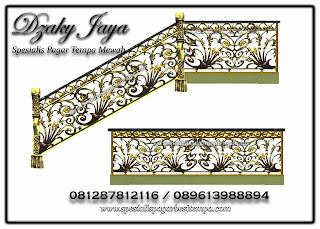 Desain Railing Tempa Klasik Mewah