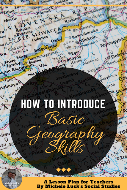 Basic geography skills are the primer for all Social Studies lesson plans, because without a general understanding of geography, your students would lack the comprehension to digest regional norms, continental differences, and other cultural concepts. Though geography is taught in elementary school, middle school, and high school, many students lack the basic understanding of common geographic topics. By introducing geography skills early in the year, you can circumvent much confusion and help your students to begin the year with a solid foundation in basic geography. #geography #mapping #mapskills #geographyskills #middleschool #highschool #socialstudies #lessonplans #teaching #teachers