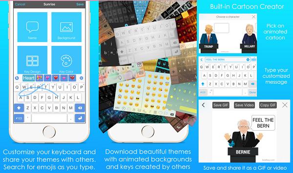 أفضل لوحة مفاتيح لهواتف الآيفون والأندرويد بميزات متنوعة