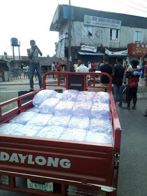 Photos: Policeman allegedly kills pure water seller over N100 bribe in Rivers State