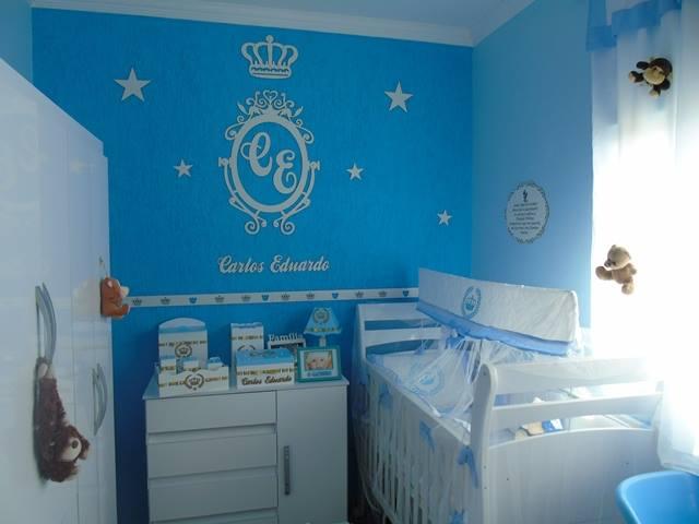 Patricia Artes e Design Quartinho tema Príncipe, Decoração quarto de menin