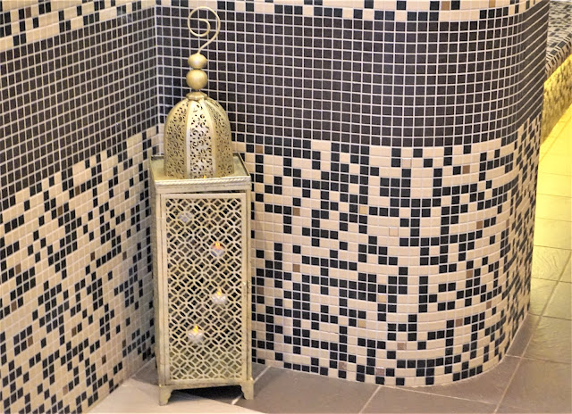 La décoration de l'univers du hammam au Vital SPA