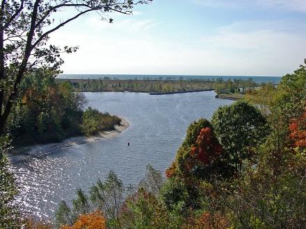 A Kalamazoo folyó a Michigan tónál