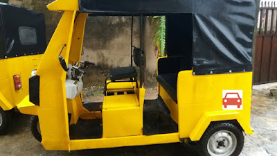 More Photos & Details Of The Nigerian Built Electric Keke Napep
