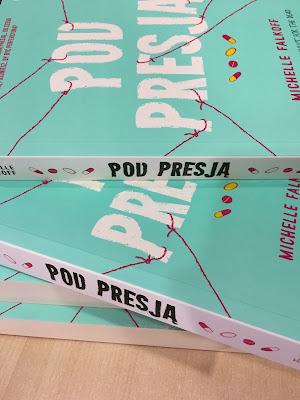 """#143 [PRZEDPREMIEROWO] Recenzja książki """"Pod presją"""" Michelle Falkof - Patronat"""