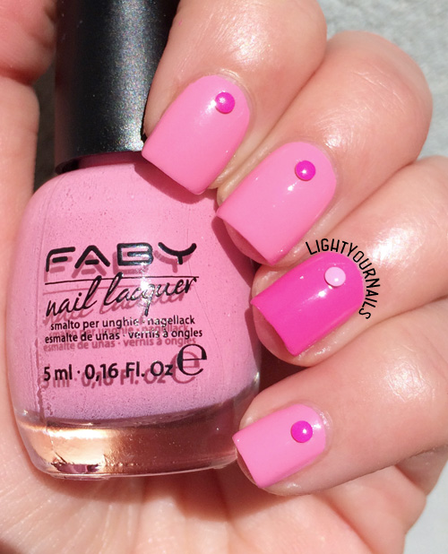 Pink Nails With Faby Light Your Nails