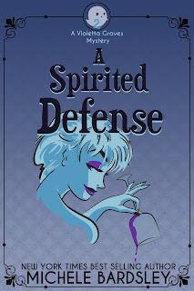 A Spirited Defense - #2 Violetta Graves Paranormal Cozy Mysteries