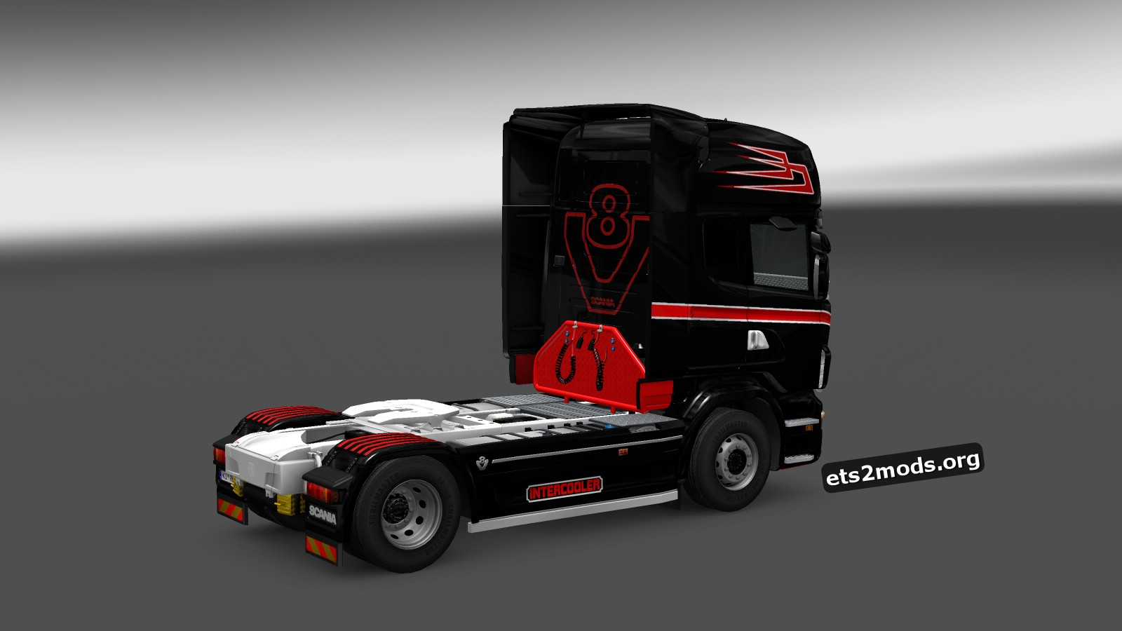 Danmark Scania Skin for Scania RJL
