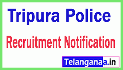 Tripura Police Recruitment Notification