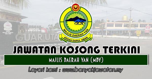 Jawatan Kosong 2018 di Majlis Daerah Yan (MDY)
