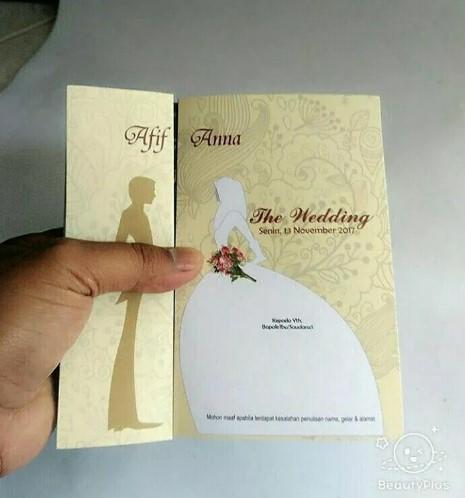 25 Contoh Desain Dan Kata Kata Dalam Undangan Pernikahan Islami Yang Baik