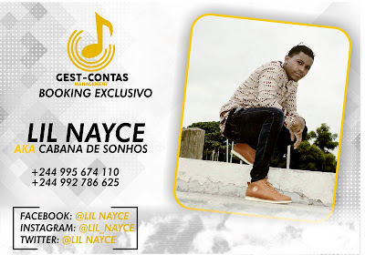 Lil Nayce Booking exclusivo Angola || Acesse agora ||