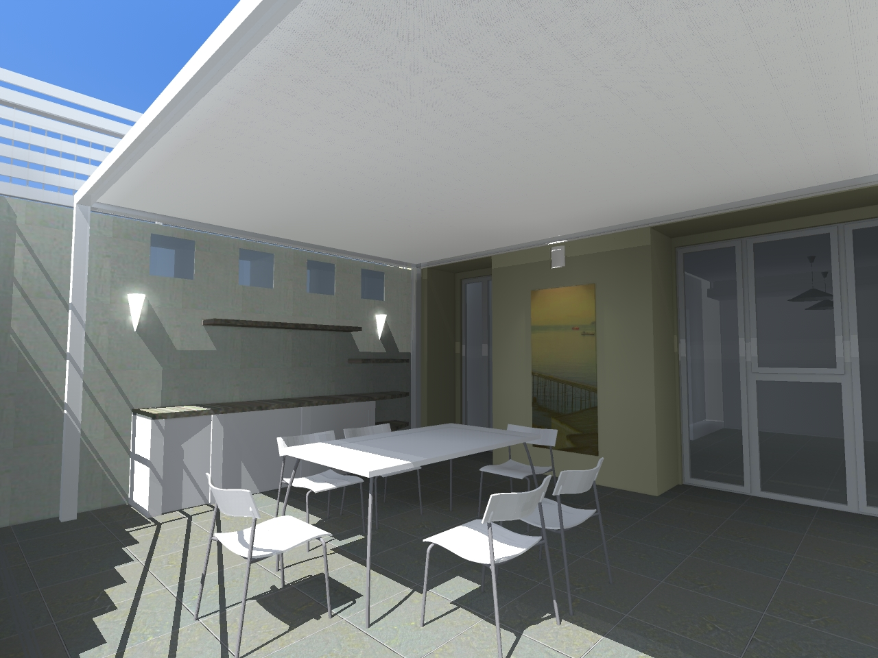 Miro casa appartamento con giardino rendering for Rendering giardino